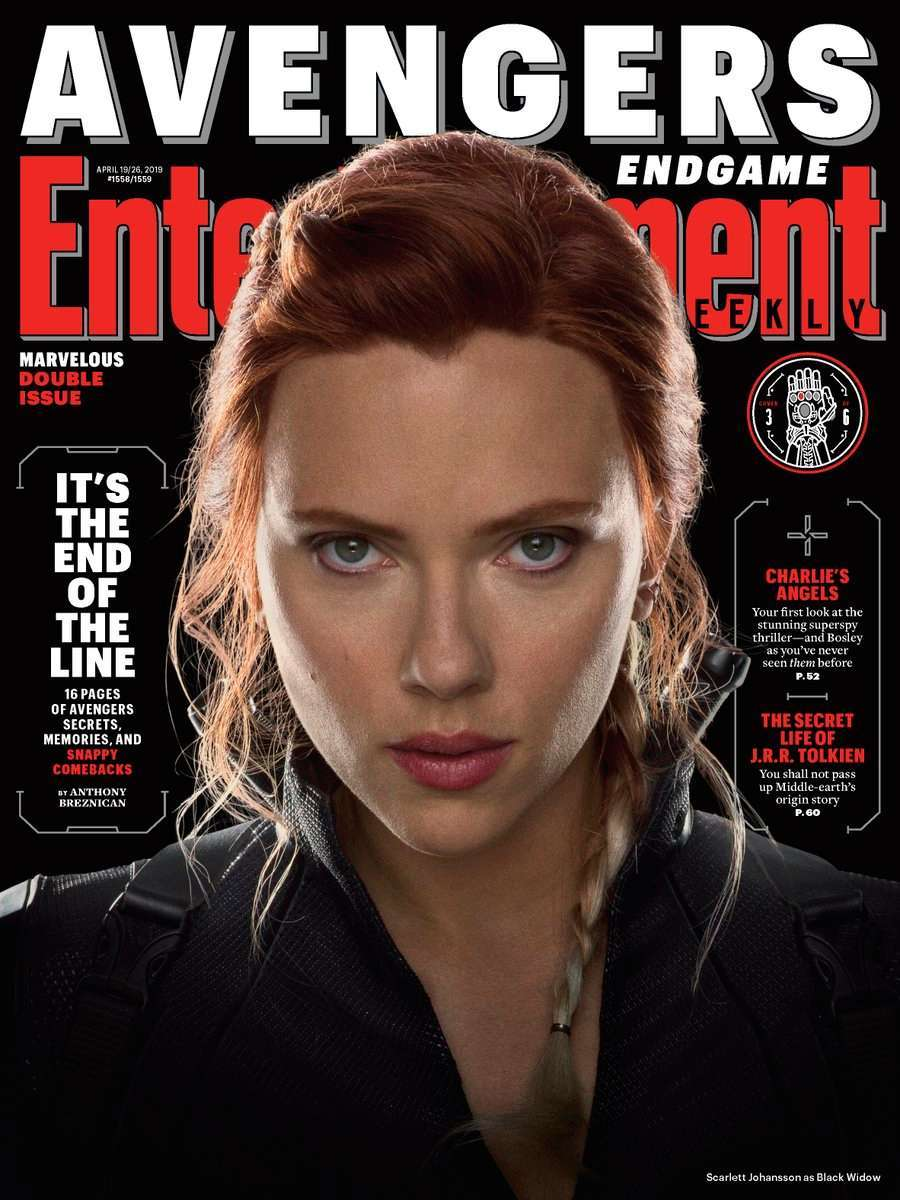 Avengers Endgame EW Black Widow