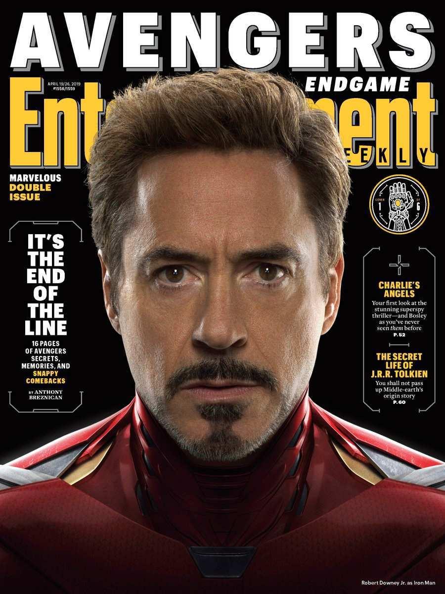 Avengers Endgame EW Iron Man