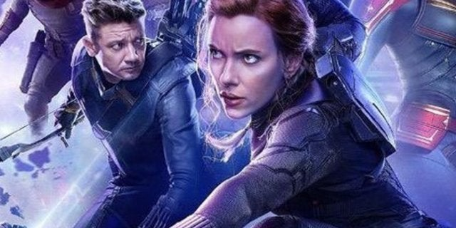 Avengers Endgame Hawkeye Black Widow