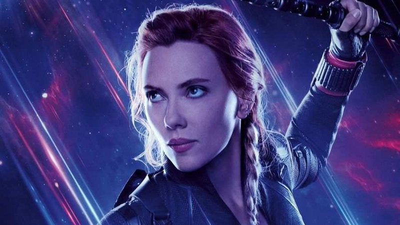 Avengers Endgame Hawkeye Black Widow