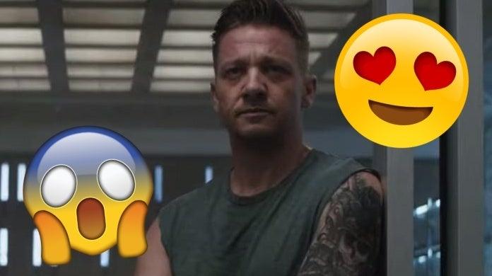 avengers endgame hawkeye tattoo internet reacts