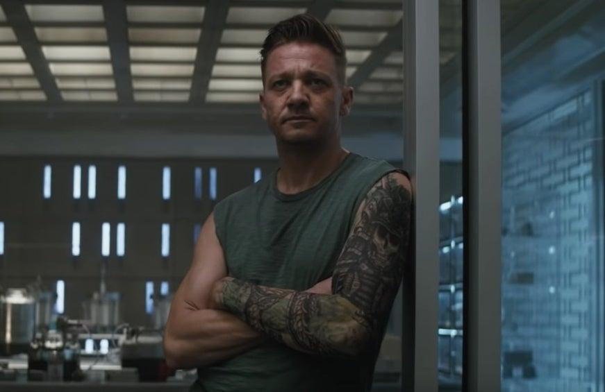 avengers endgame hawkeye tattoo ronin