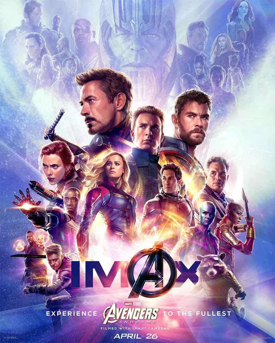 Avengers Endgame IMAX