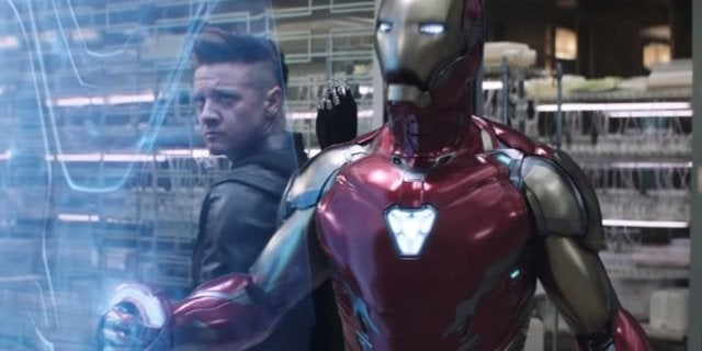 Avengers Endgame Iron Man 85 Armor Power Nanotech Mechanical