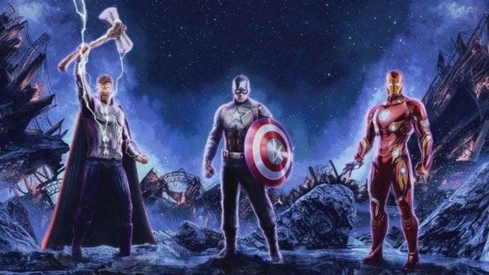 Avengers Endgame Iron Man Captain America Thor