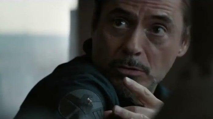avengers endgame iron man shield shirt