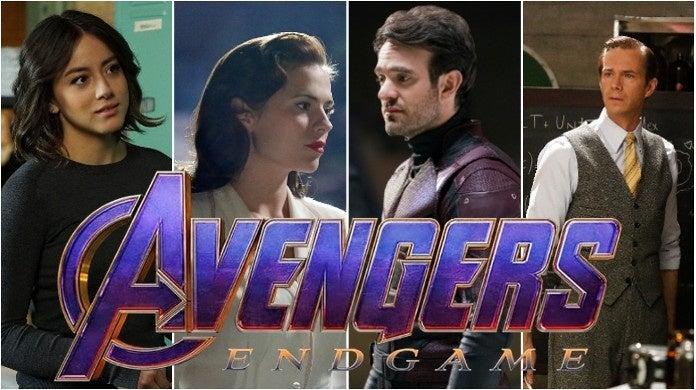 avengers endgame marvel tv characters