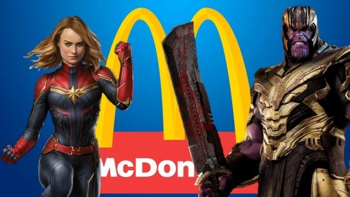 Avengers Endgame McDonalds ComicBookcom