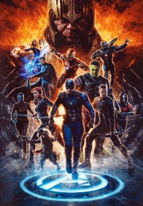 New Avengers: Endgame promo art