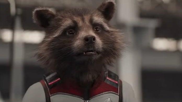 avengers endgame rocket raccoon