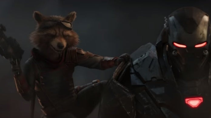 Avengers Endgame Rocket War Machine