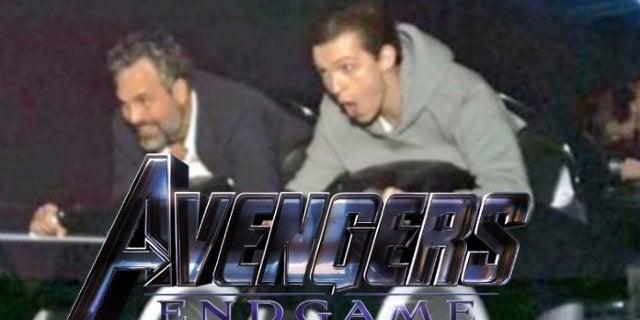 Avengers Endgame Russo Bros Mark Ruffalo Tom Holland