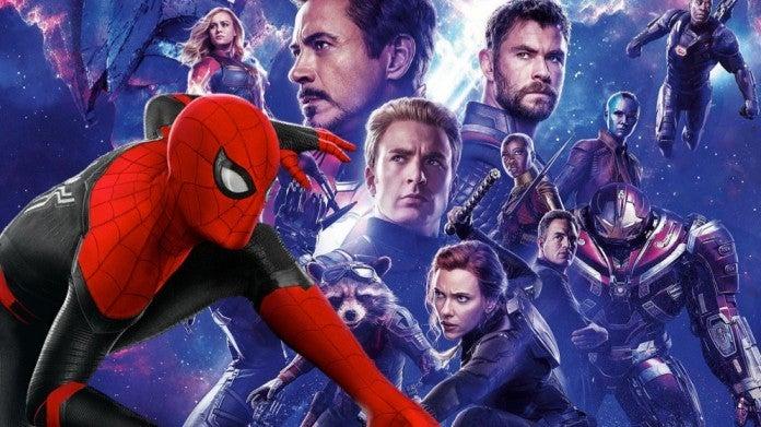 Avengers Endgame Spider-Man Far From Home