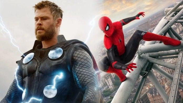 Avengers Endgame SpiderMan Far From Home