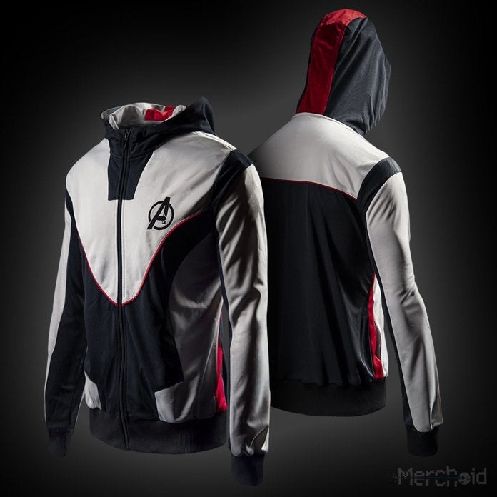 8701b631f The 'Avengers: Endgame' Quantum Realm Suit Sport Jacket Hoodie is Live