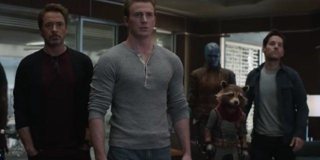 avengers endgame team