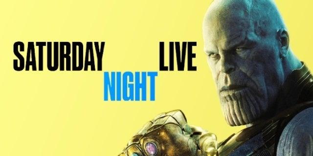 avengers endgame thanos saturday night live