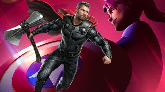 Avengers Endgame Thor Fortnite Joke Scene