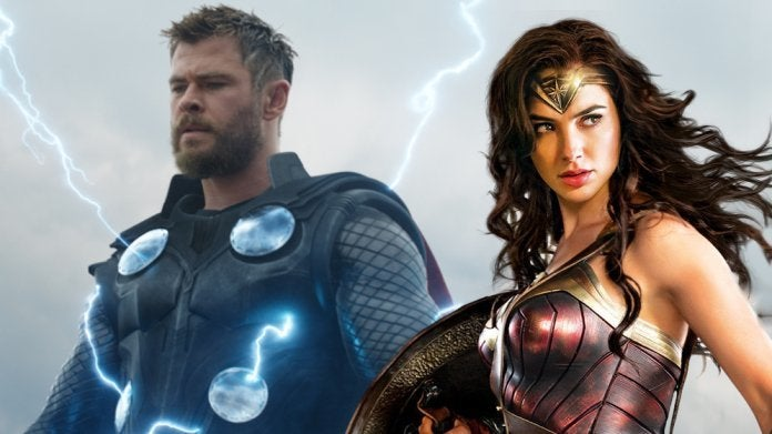 Avengers Endgame Thor Wonder Woman