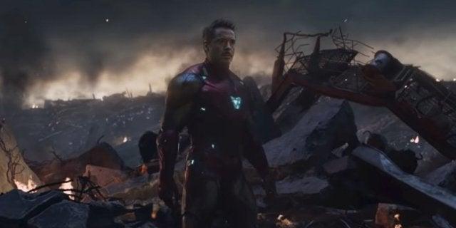 Avengers Endgame Tony Stark Iron Man Returns to Earth