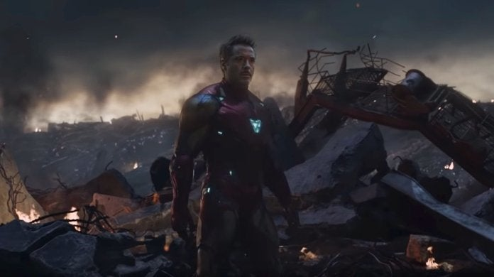 Avengers Endgame Tony Stark Iron Man Returns to Earth