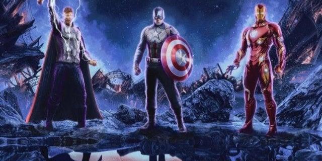 avengers endgame trinity poster