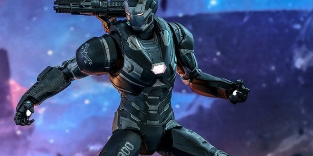 Hot Toys Avengers Endgame War Machine Figure Includes