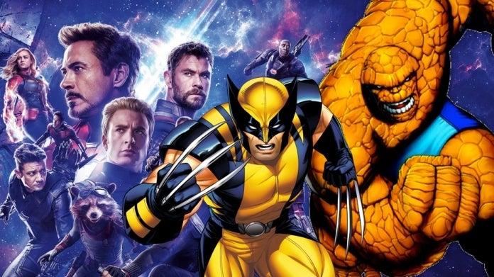 Avengers Endgame XMen Fantastic Four