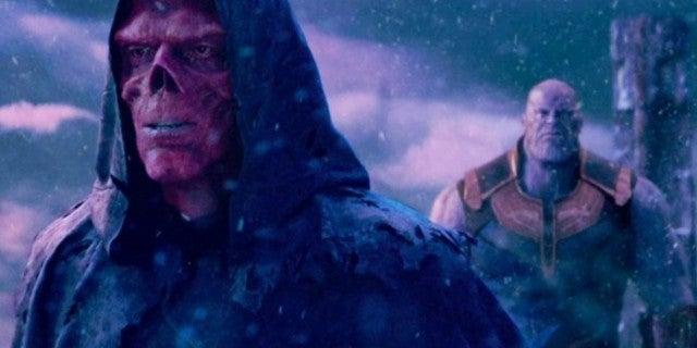 Avengers Infinity War Red Skull Thanos