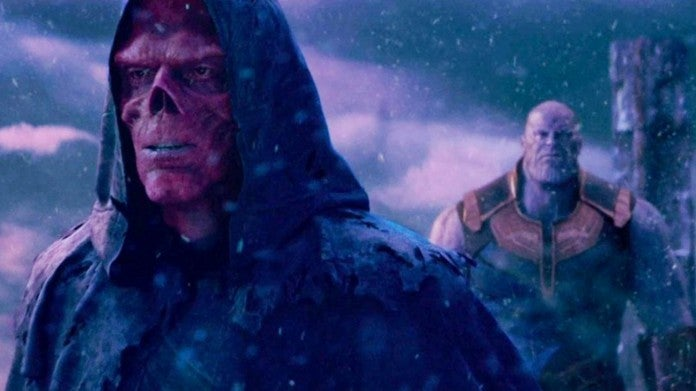 Avengers Infinity War Red Skull Thanos