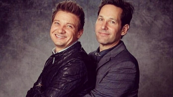 Avengers Jeremy Renner Paul Rudd 50 Year Old Virgins