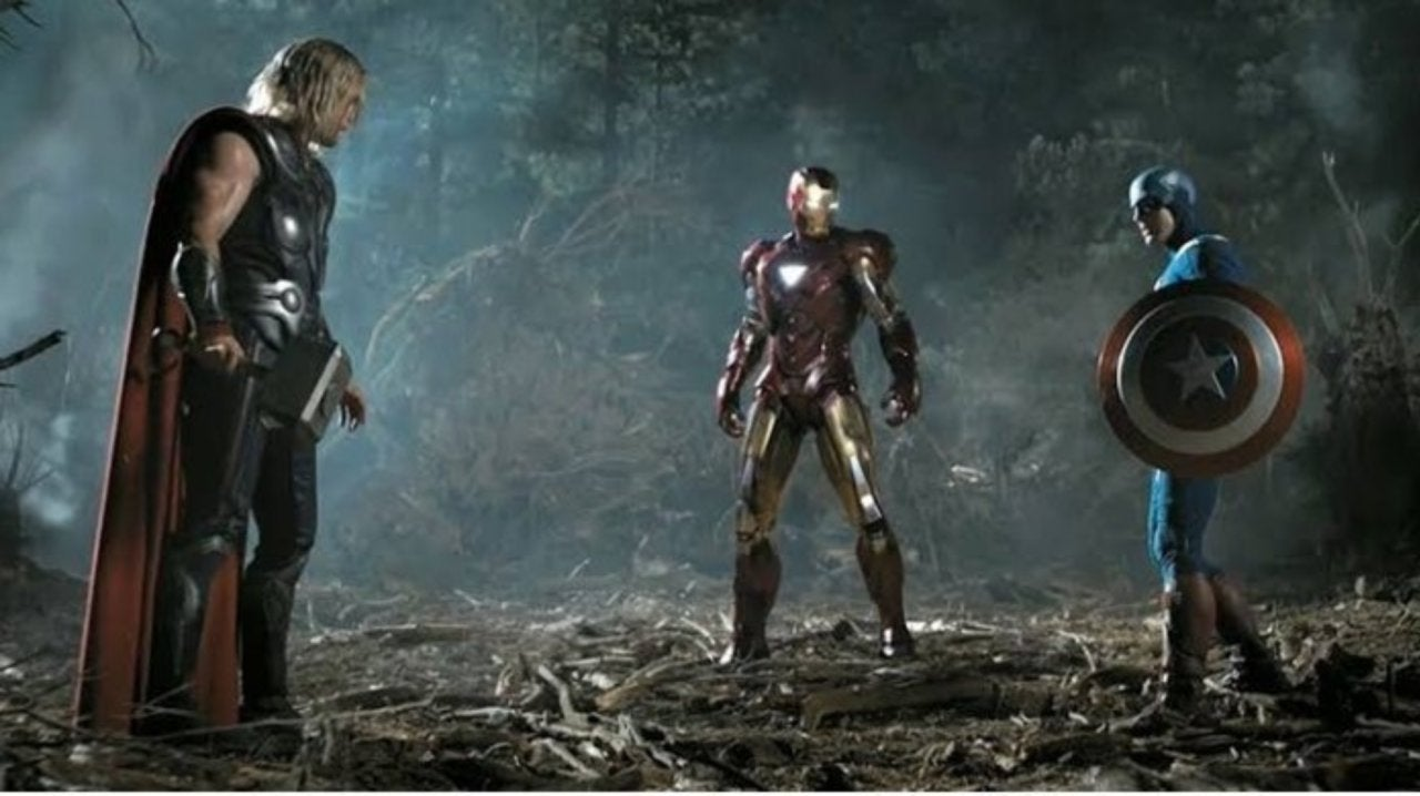 Marvel Fans Are Freaking Out About the 'Avengers: Endgame' Trinity Reunion