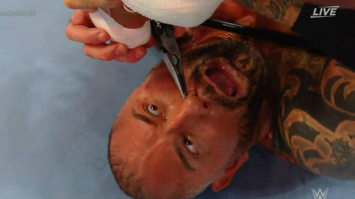 Batista-Wrestlemania-nose-ring