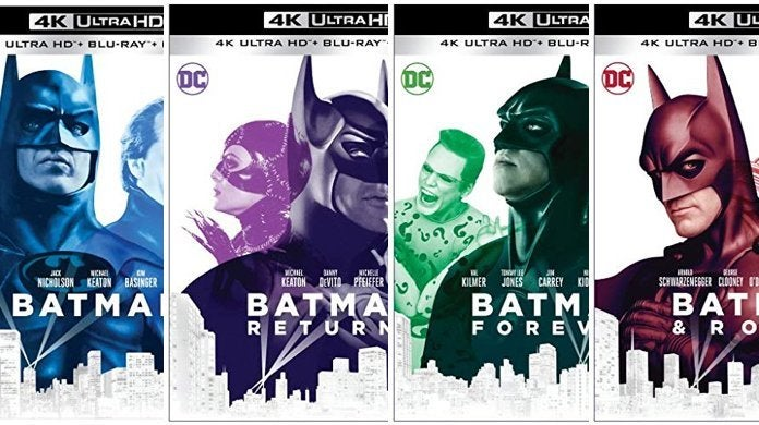 Save 20% On the '80s and '90s Batman 4K Blu-ray Collection