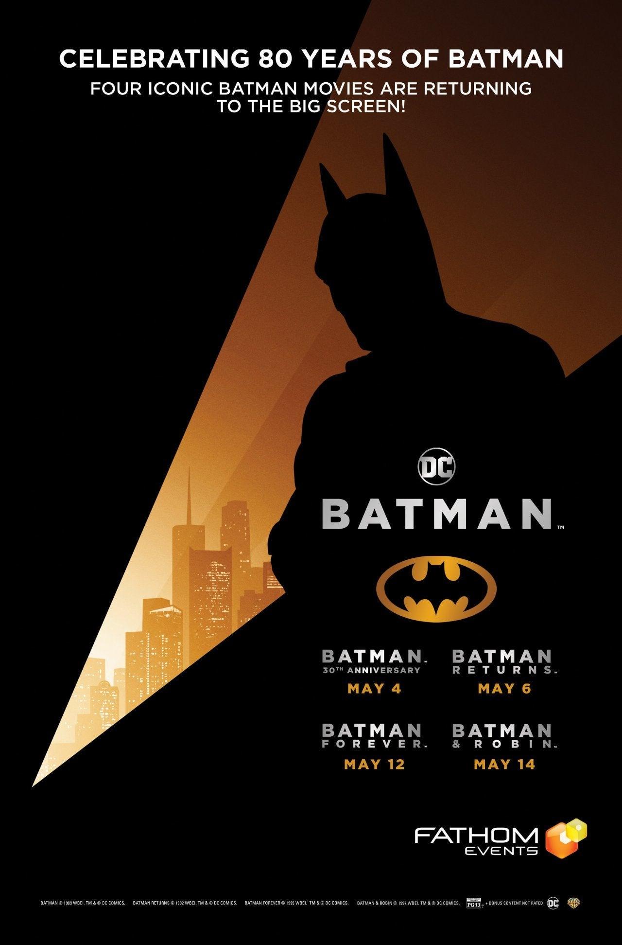 batman screening warner bros 80th anniversary