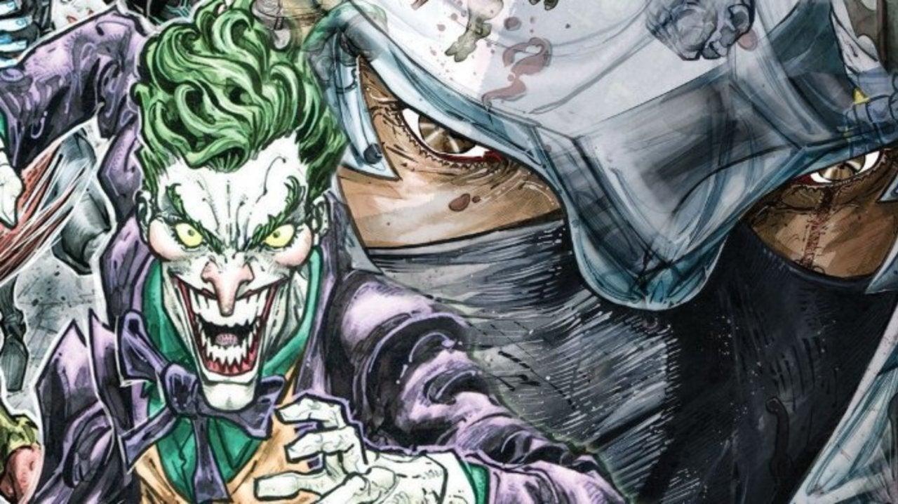 DC Debuts Joker/Shredder Mashup Design