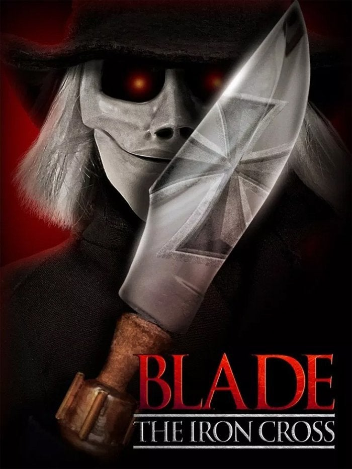 blade the iron cross movie poster puppet master