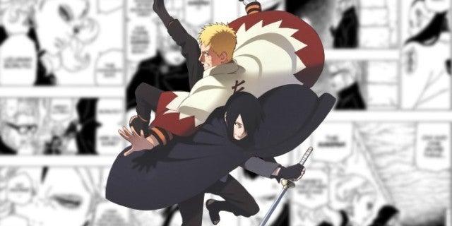boruto chapter 34 Kara Karma Marks Naruto Sasuke Attack