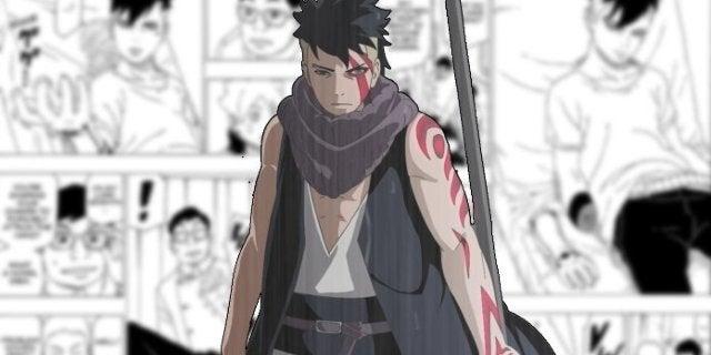 Boruto Chapter 34 Kawaki Naruto Prosthetic Hand Chakra