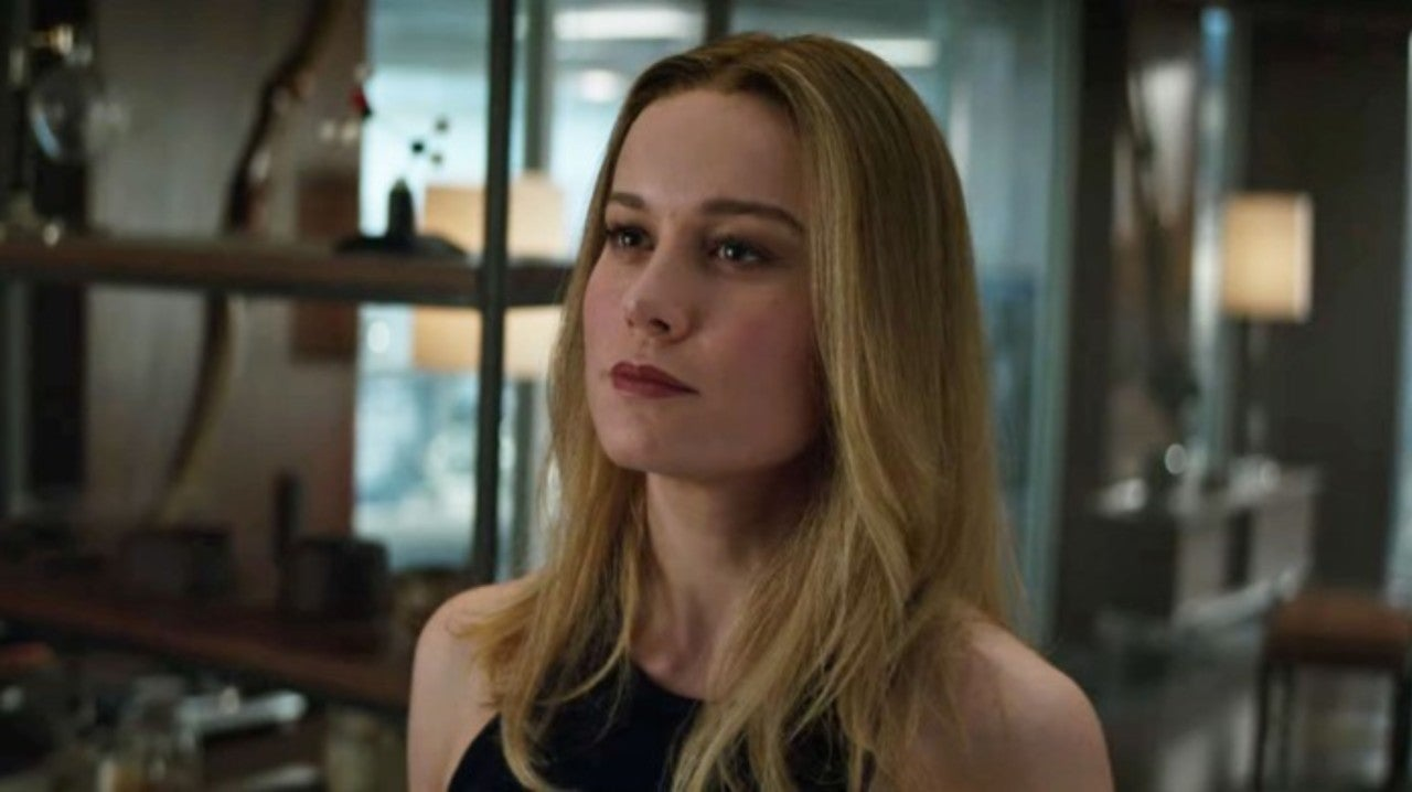 Captain Marvel Gets Debriefed on What Happened While She Was Gone in New 'Avengers: Endgame' Audi Trailer
