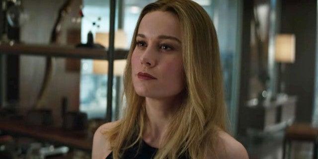 Brie Larson Captain Marvel Makeup Avengers Endgame Explained