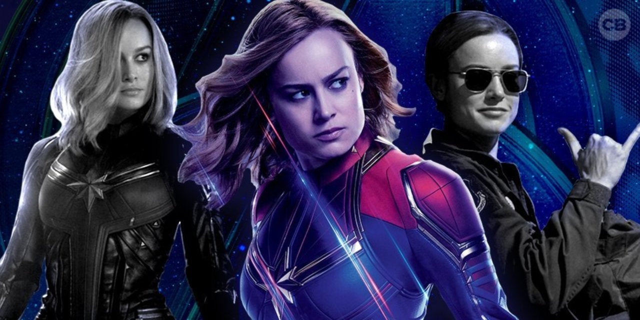 New Photos Reveal Up-Close Look at Captain Marvel's Avengers: Endgame Costume