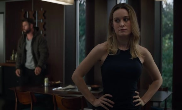 Fans are convinced that Captain Marvel has telepathy skills from the latest Avengers Endgame clip.