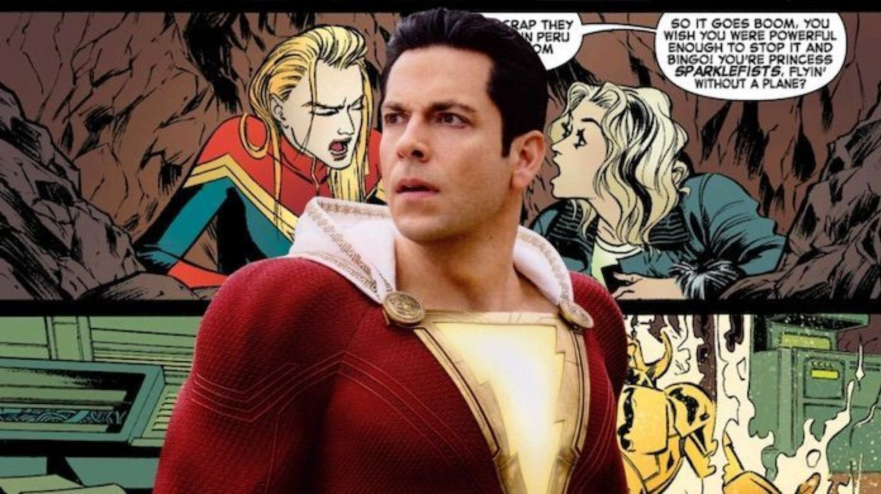 shazam!' had a stealthy 'captain marvel' reference