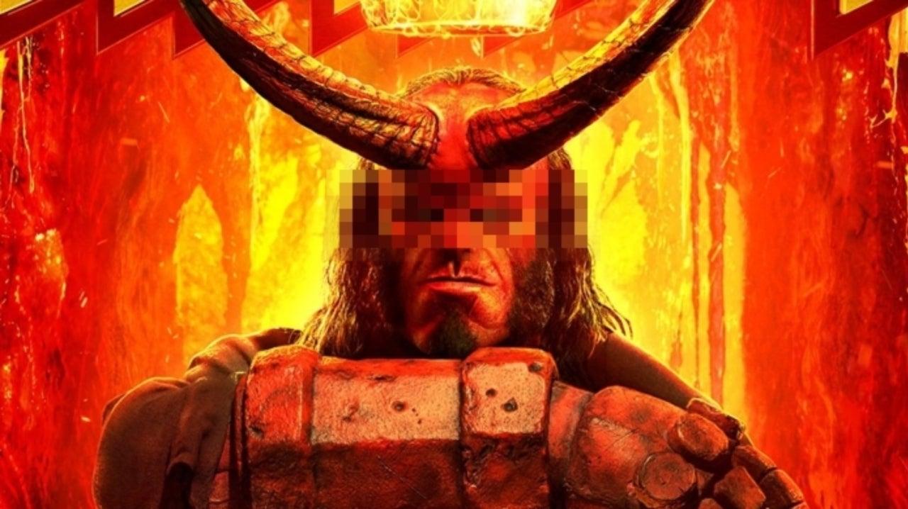 Censored 'Hellboy' Sign Goes Viral