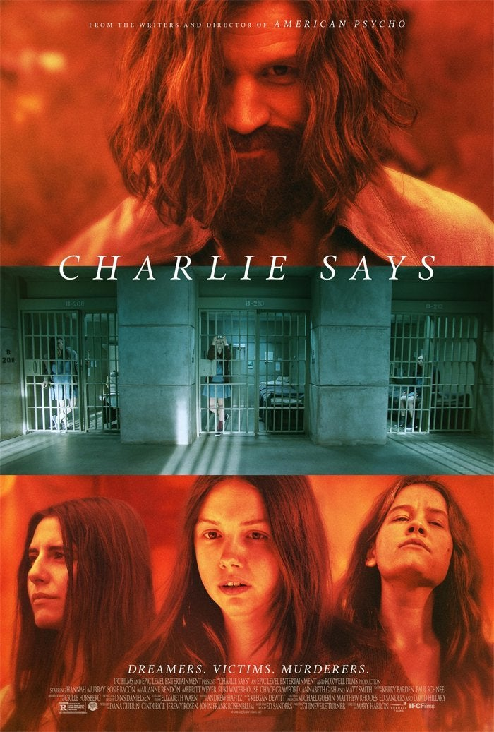 charlie says movie poster matt smith 2019