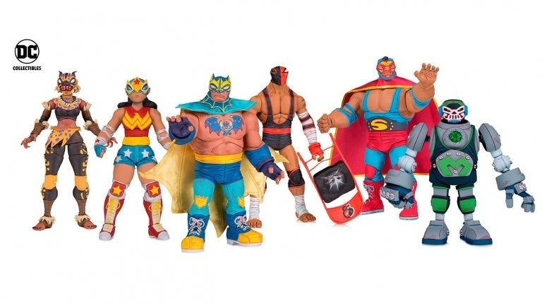 DC Cancels Wrestling-Inspired Lucha Explosiva Action Figures