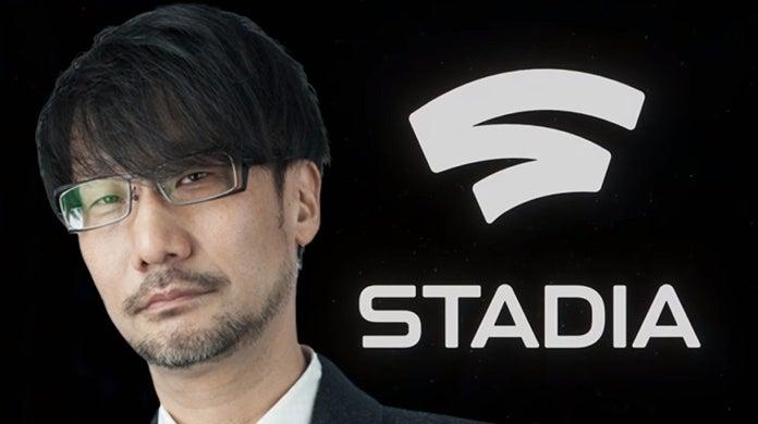 Death Stranding Hideo Kojima Google Stadia
