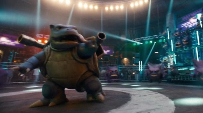 'Detective Pikachu' Shares Best Look at Blastoise Yet