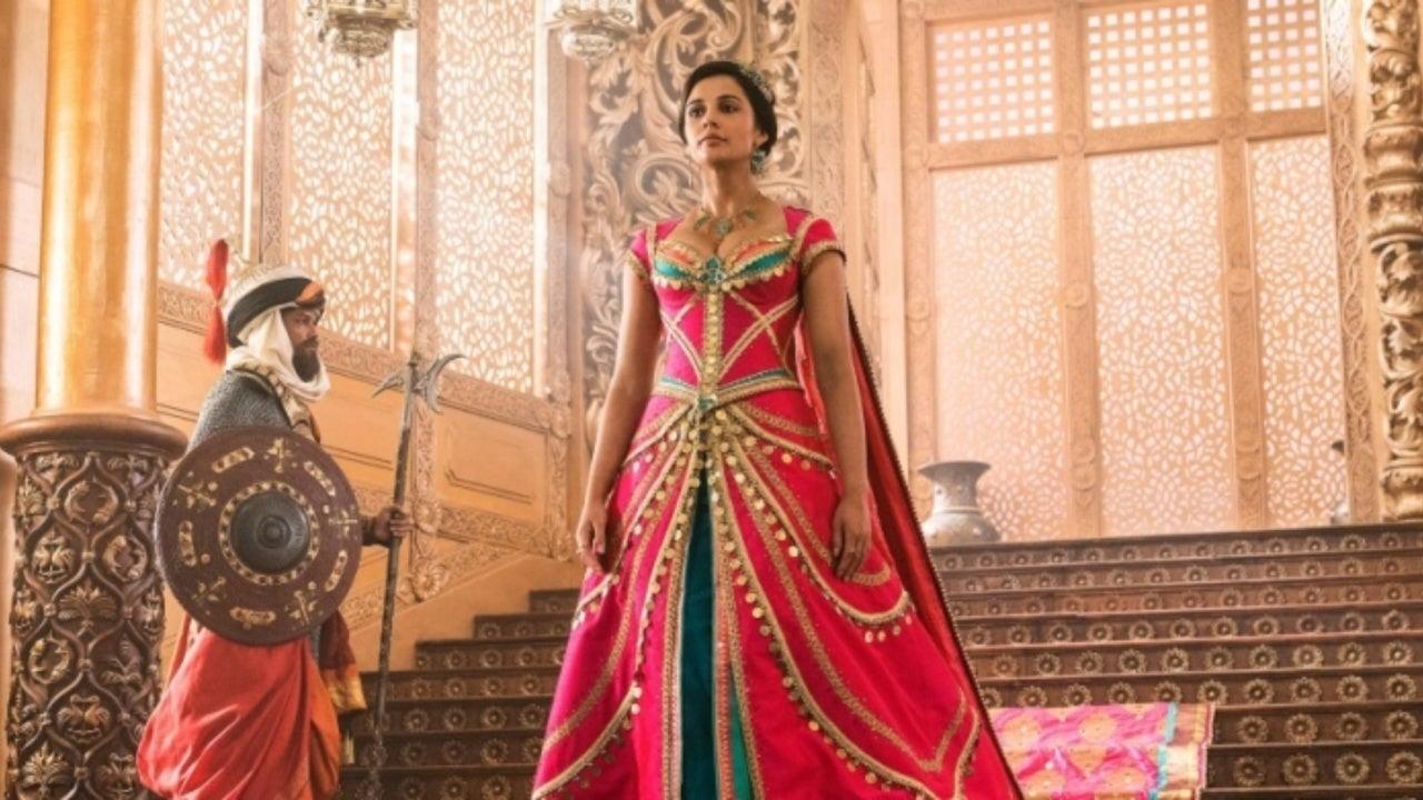 New 'Aladdin' Photos Shine the Spotlight on Princess Jasmine